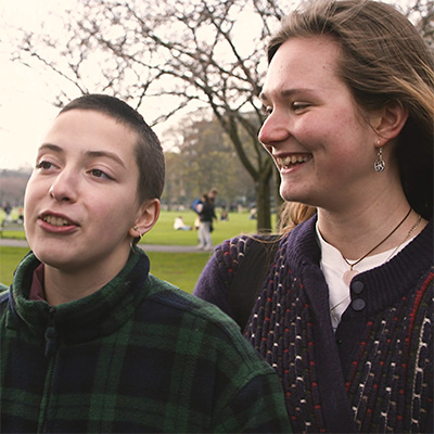 Portrait of Emily & Magdalena