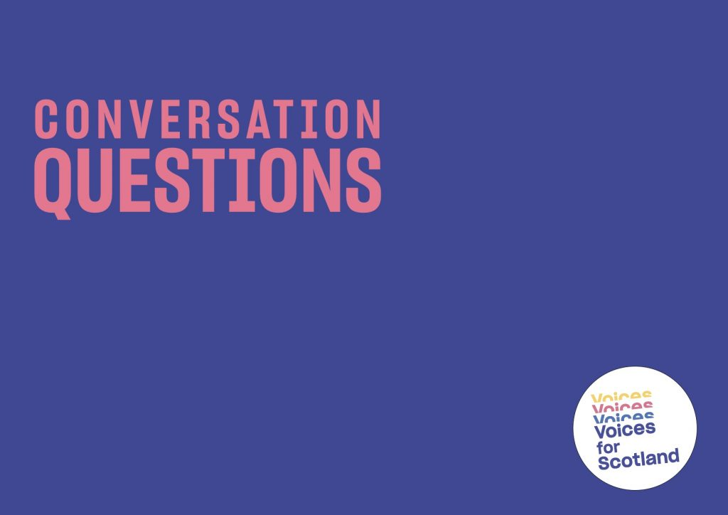 Conversation Questions Graphic