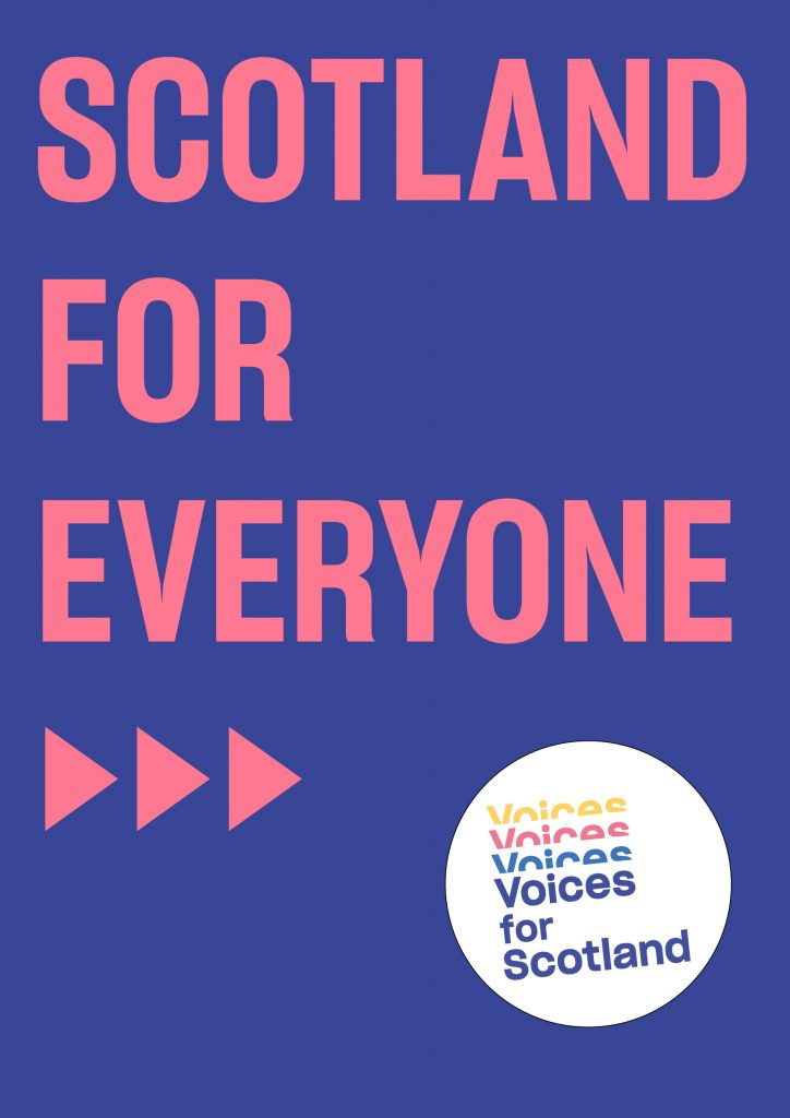 Scotland for Everyone Poster