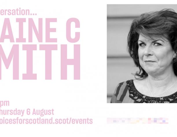 Elaine C Smith Event poster