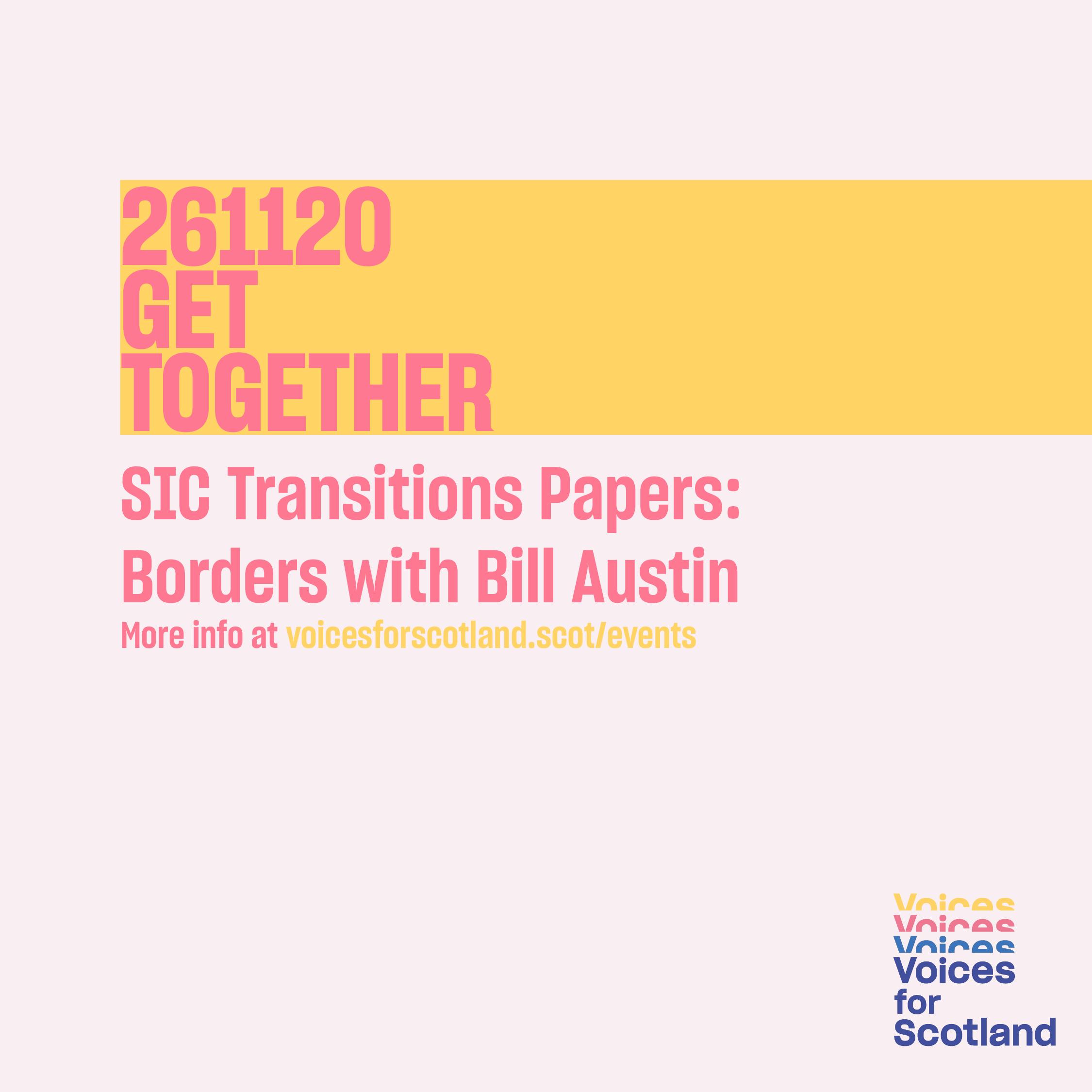 Poster for Get Together event 26 November