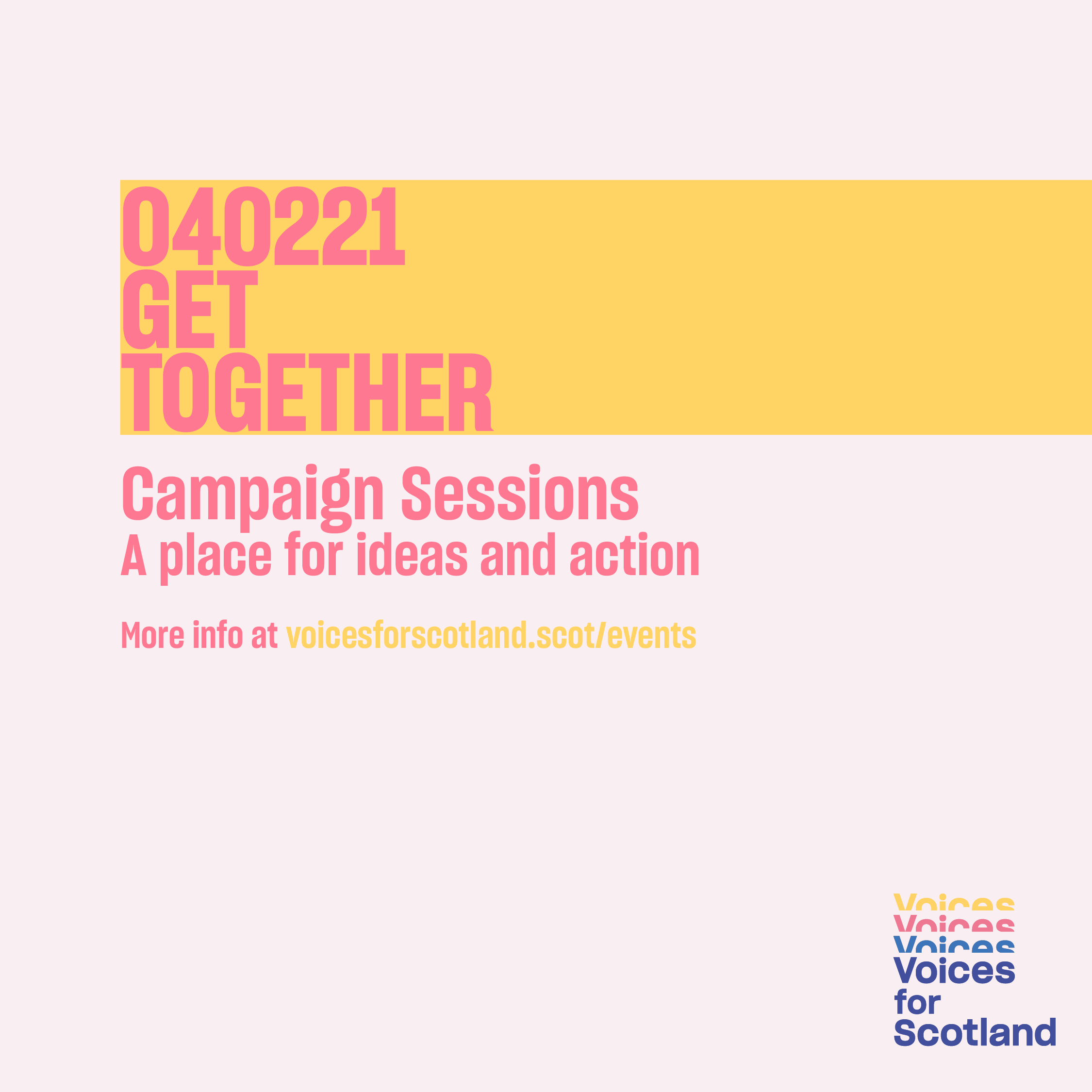 Image for campaign event on 4 February 2021
