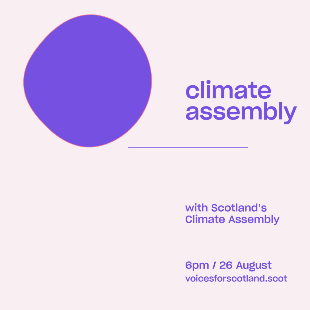 climate assembly event
